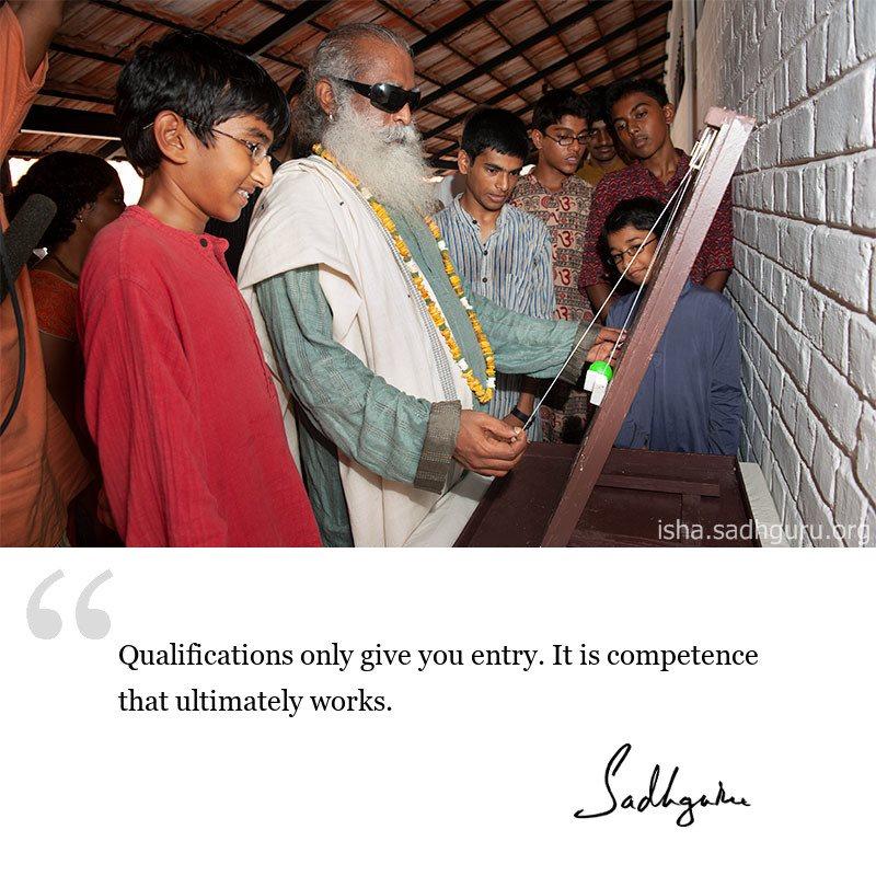Sadhguru quote on Success, quote on success