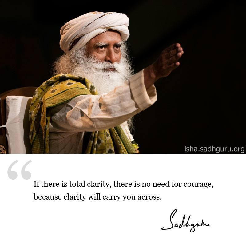 sadhguru quote on life wisdom, sadhguru quote on self improvement.