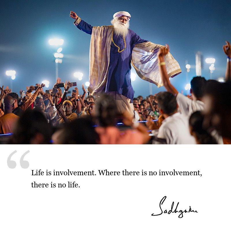 sadhguru quote on life wisdom, sadhguru quote on motivation.