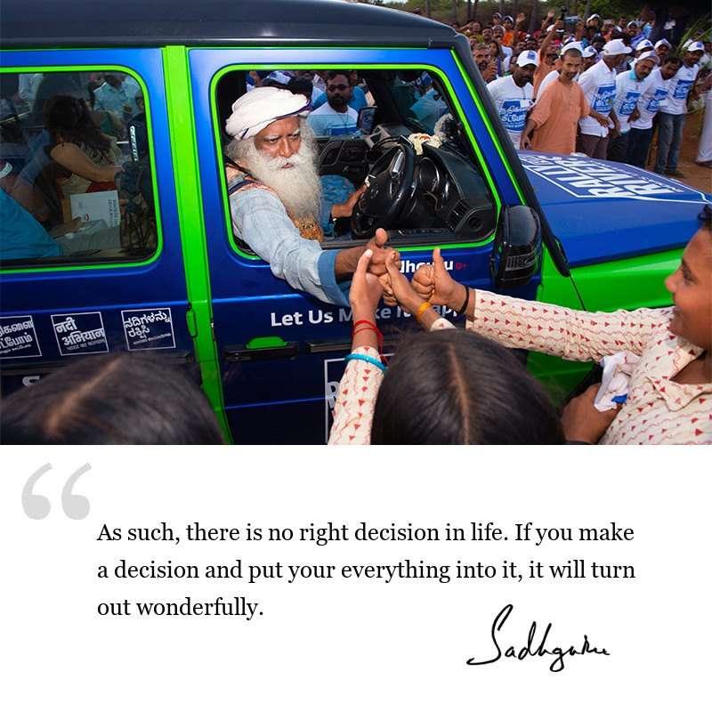 sadhguru quote on life wisdom, sadhguru quote on inspiration.