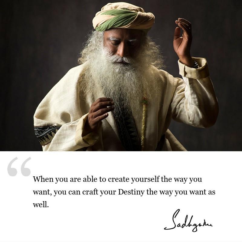 sadhguru quote on wisdom for seekers, sadhguru quote on self awareness.