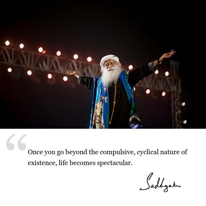 sadhguru quote on wisdom for seekers, sadhguru quote on yogic wisdom.