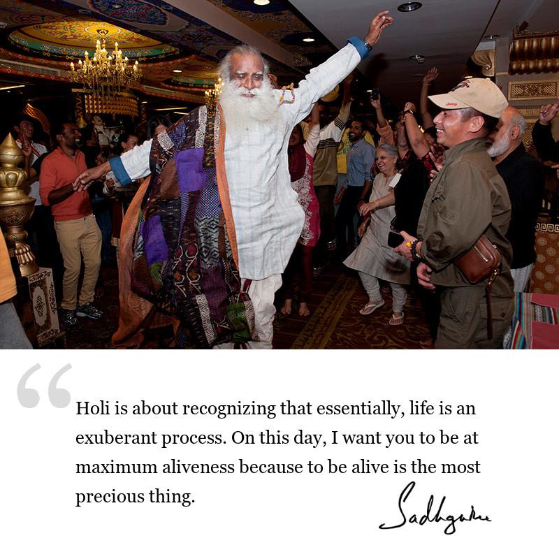 sadhguru quote on be inspired, sadhguru quote on festivals, sadhguru quote on life lessons.