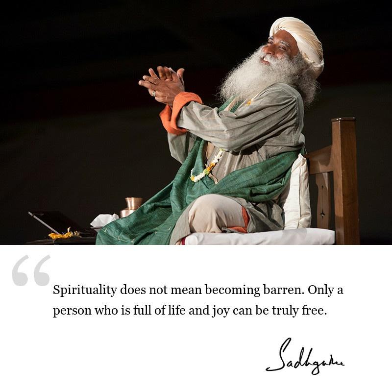 sadhguru quote on wisdom for seekers, sadhguru quote on spirituality.