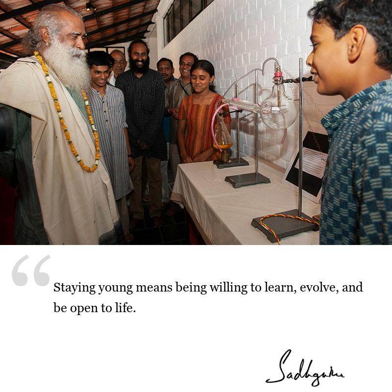 sadhguru quote on lifestyle, sadhguru quote on self improvement, sadhguru quote on involvement.