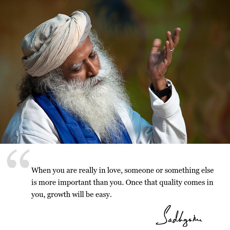 sadhguru quote on relationships, sadhguru quote on love, sadhguru quote on inclusiveness.