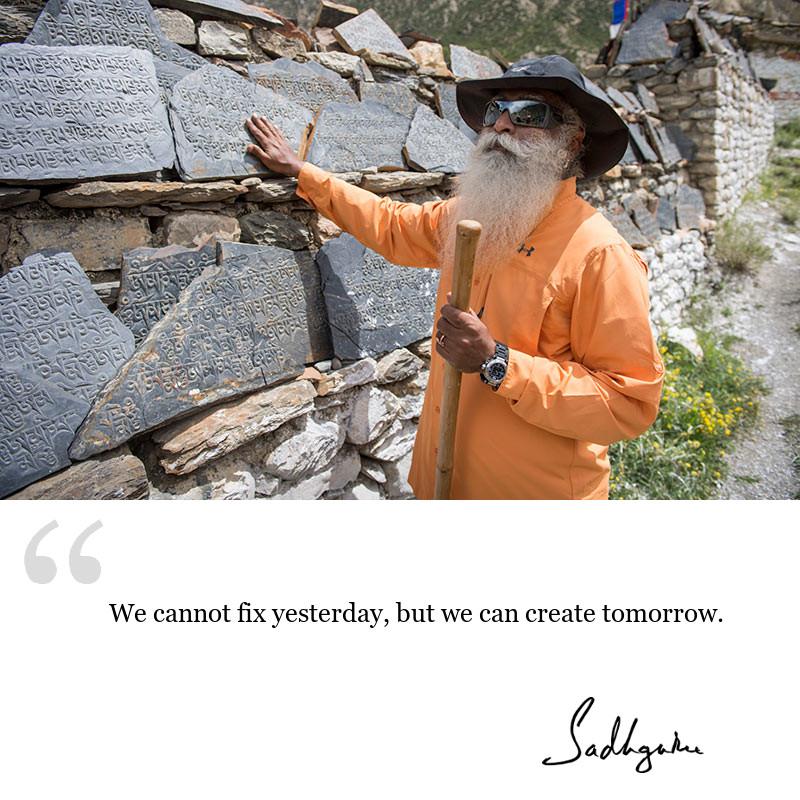 sadhguru quote on be inspired, sadhguru quote on motivation.
