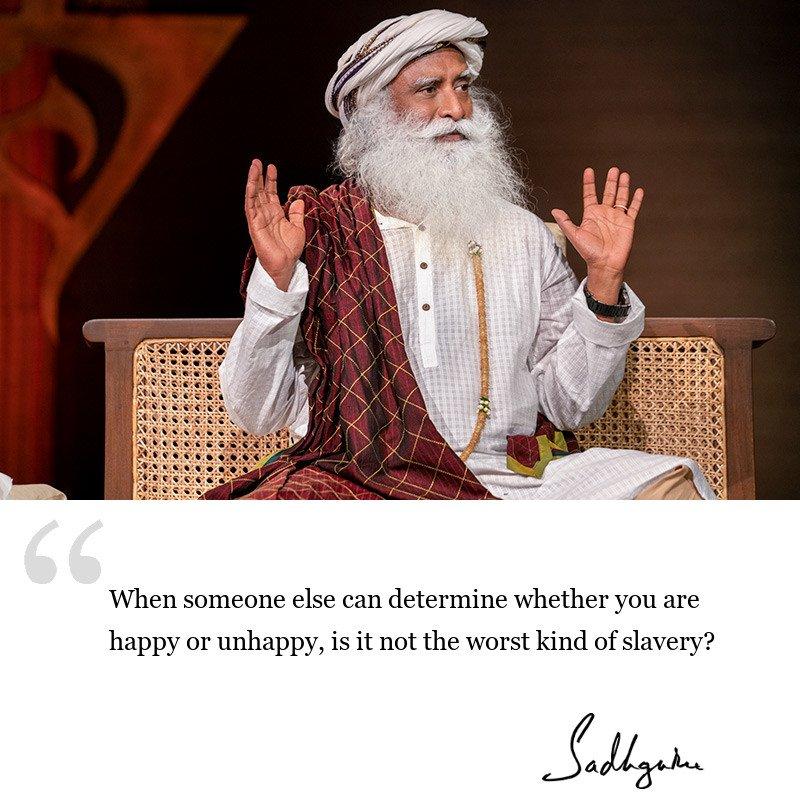 sadhguru quote on wisdom for seekers, sadhguru quote on self improvement.