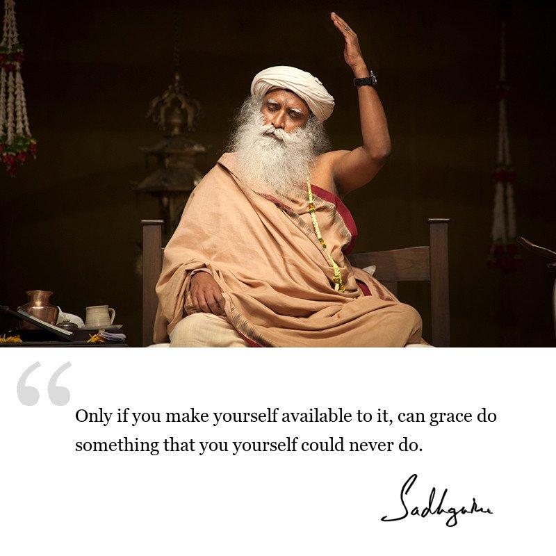 sadhguru quote on wisdom for seekers, sadhguru quote on self awareness, sadhguru quote on spiritual path.