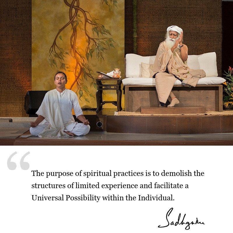 sadhguru quote on wisdom for seekers, sadhguru quote on spiritual growth,