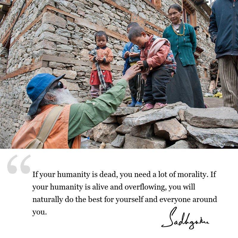 sadhguru quote on wisdom for seekers, sadhguru quote on inclusiveness.
