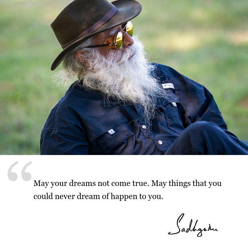 sadhguru quote on Guru, sadhguru quote on blessings.